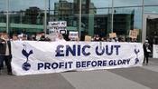 Tottenham Hotspur supporters spark protest denouncing European Super League