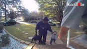 US toddler refuses to enter home after returning from sleepover at grandparents