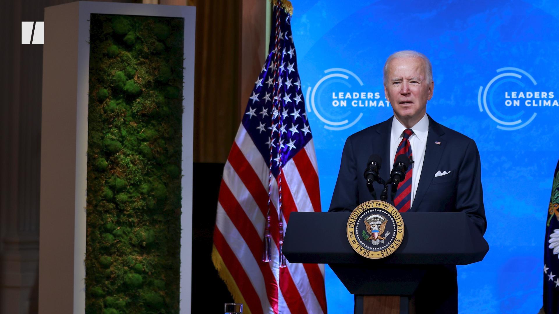 Biden's Climate Comeback Pledge