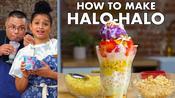 How To Make Halo-Halo With Ube Ice Cream