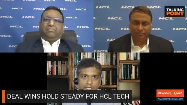 HCL Tech Management On Q1 Report Card & More