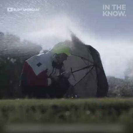 讓你能抵抗超強風的時尚雨傘!