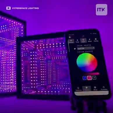 擁有1600萬種顏色的立方體藝術品!
