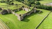 Drone in Ireland captures spectacular ancient ruins