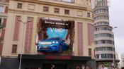 The new ŠKODA ENYAQ iV has taken over the emblematic Plaza del Callao in the center of Madrid