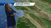 Sunny start to Monday with warm to hot temps