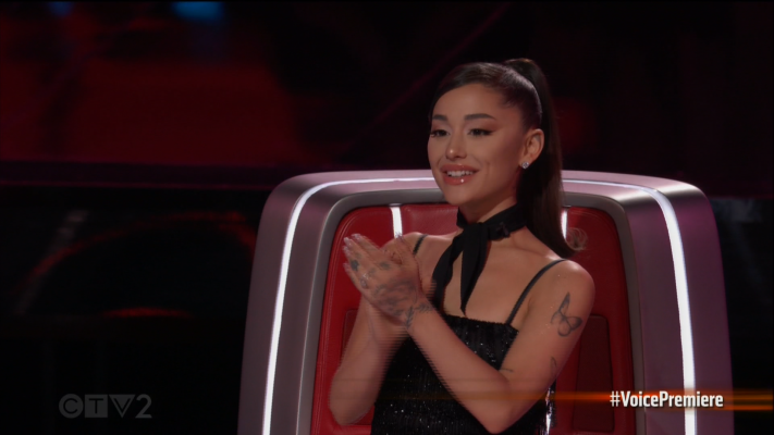 Ariana Grande Crushes First Episode Of 'The Voice'