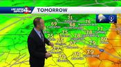 Cooler air on the way