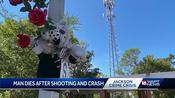 Jackson police investigate shooting, crash